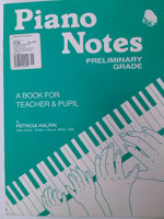 Piano Notes Preliminary Grade by Patricia Halpin 70% off