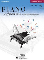 Piano Adventures Level 2A - Lesson Book 2nd Edition, by  Nancy Faber Randall Faber for Piano, Publisher  Faber Piano Adventures