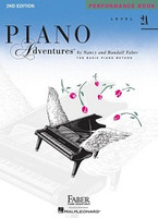 Piano Adventures Level 2A - Performance Book  2nd Edition, by Nancy Faber Randall Faber for Piano, Publisher  Faber Piano Adventures