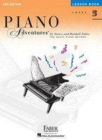 Piano Adventures Level 2B- Lesson Book 2nd Edition, by  Nancy Faber Randall Faber for Piano, Publisher  Faber Piano Adventures