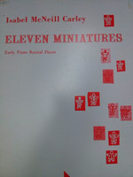Eleven Miniatures by Isabel McNeill Carley 70% off