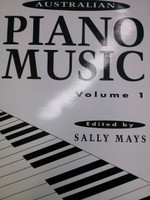 Australian Piano Music Volume 1 edited by Sally Mays,70% off