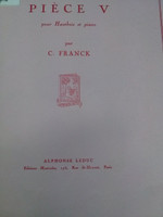 Piece No.5 for Oboe and Piano by Cesar Franck,70% off