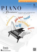 Piano Adventures Level 2A - Popular Repertoire Book, by Nancy Faber Randall Faber for Piano, Publisher  Faber Piano Adventures