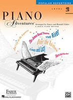 Piano Adventures Level 2B - Popular Repertoire Book, by Nancy Faber Randall Faber for Piano, Publisher  Faber Piano Adventures