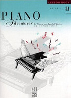 Piano Adventures Level 3A - Lesson Book, by Nancy Faber Randall Faber for Piano, Publisher  Faber Piano Adventures