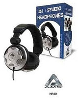 DJ / Studio Headphones HP40 with Volume Control - Great for use with Digital Pianos/Keyboards!