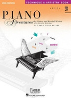 Piano Adventures Level 2B - Technique & Artistry Book, by Nancy Faber Randall Faber for Piano, Publisher  Faber Piano Adventures