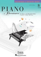 Piano Adventures Level 3A - Technique & Artistry Book, by  Nancy Faber Randall Faber for  Piano, Publisher  Faber Piano Adventures
