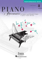 Piano Adventures Level 3B - Peformance Book by Nancy Faber Randall Faber for Piano, Publisher  Faber Piano Adventures