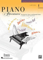 Piano Adventures Level 4 - Popular Repertoire Book, by  Nancy Faber Randall Faber for Piano, Publisher  Faber Piano Adventures