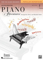 Accelerated Piano Adventures for the Older Beginner Popular Repertoire Book 2, by  Nancy Faber Randall Faber for Piano, Publisher  Faber Piano Adventures