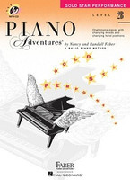 Piano Adventures Level 2B - Gold Star Performance with CD, by  Nancy Faber Randall Faber for  Piano, Publisher  Faber Piano Adventures