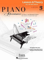 Piano Adventures All-In-Two Level 2B, by Nancy Faber Randall Faber for Piano, Publisher  Faber Piano Adventures