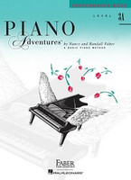 Piano Adventures Level 3A - Performance Book 2nd Edition, by Nancy Faber Randall Faber for  Piano, Publisher  Faber Piano Adventures