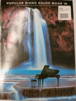 Popular Piano Solo Book 10 arranged by Frank Booth,70% off