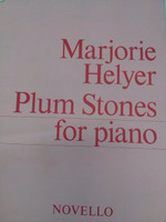 Marjorie Helyer Plum Stones for piano,70% off