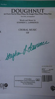 Doughnut,Choral music by Stephen L. Lawrence,70% off