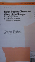 Two Little Songs for 2-part choir and piano by Jerry Estes