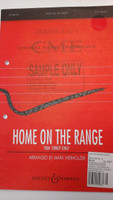 Home Of The Range for 2-part treble arr. by Mark Hierholzer,70% off