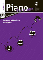 Piano for Leisure Series 3 Recording & Handbook - Sixth Grade