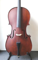 Enrico Student Plus II 3/4 Cello Outfit (includes Bow, Semi-Hard Case & Pro Set-Up)