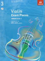 *SALE* ABRSM Grade 3, Score, Part & CD: Selected from the 2012-2015 syllabus