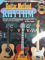 Progressive Guitar Method Rhythm with CD/DVD by Gary Turner