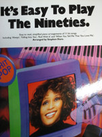 It's Easy To Play The Nineties,Piano/Vocal/Guitar,70% off