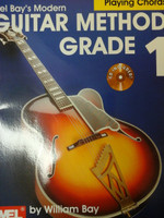 Mel Bay's Modern Guitar Method Grade 1 - Playing Chords book, by William Bay,70% off