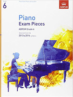 *SALE* ABRSM, Grade 6 Piano Exam Pieces, Selected from the 2013 & 2014 Syllabus