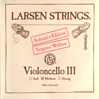 """G"" Larsen Cello String 4/4 (single) Soloist Edition Medium"