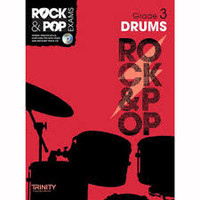 TG Rock & Pop Exams Drums Gr 3 BK/CD - 40% OFF