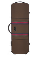 "BAM Saint Germain Stylus Oblong 15"" Viola Case - Chocolate"