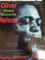 Oliver Nelson Stolen Moments Play-A-Long, 50% off