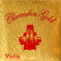 Claredon Gold Violin Strings 4/4 Set
