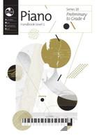 Piano Series 18 - Handbook Level 1 (2018), Series for AMEB Piano, Publisher AMEB