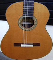 Spanish-Made Admira Artista Concert Size Classical Guitar