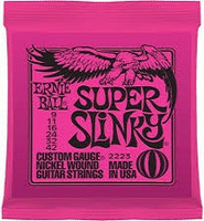Ernie Ball Electric Guitar Strings - Super Slinky