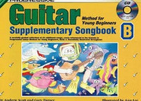 Progressive Guitar Method for Young Beginners Supplementary Songbook B with CD