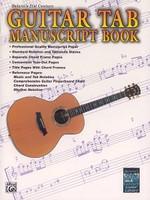 Belwin's 21 Century - Guitar Tab Manuscript Book