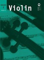 Violin Series 8 -Second Grade, for Violin&Piano, Publisher AMEB, Series AMEB Violin