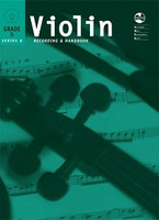 Violin Series 8 -Recording and Handbook Grade 5, for Violin, Publisher AMEB, Series AMEB Violin