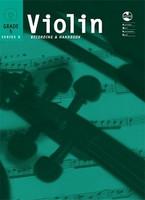 Violin Series 8 -Recording and Handbook Grade 5, for Violin, Publisher AMEB, Series AMEB Violin