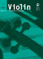 Violin Series 8 -Recording and Handbook Grade 7, for Violin, Publisher AMEB, Series AMEB Violin