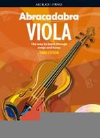 Abracadabra Viola 3rd Edition Book + 2CDs, for Viola&Performance & Play-Along CD, Author Peter Davey, Publisher A & C Black, Series Abracadabra Strings