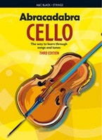 Abracadabra Cello 3rd Edition, for Cello, Author Maja Passchier, Publisher A & C Black, Series Abracadabra Strings