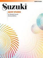 Quint Etudes (Revised) by Dr. Shinichi Suzuki for Violin, Publisher Summy Birchard