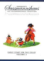 Early Start on the Cello, Volume 2, by Egon Sassmannshaus, Kurt Sassmannshaus, for Cello, Series The Sassmannshaus Tradition, Publisher  Barenreiter