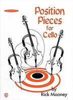 Position Pieces for Cello, Book 1 by Rick Mooney for Cello, Publisher Summy Birchard